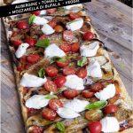 Pizza Aubergine Tomates Cerises