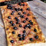 Pizza Olives noires Vegan
