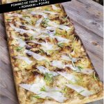Pizza Pommes de Terre Pecorino