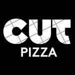 logo cut pizza