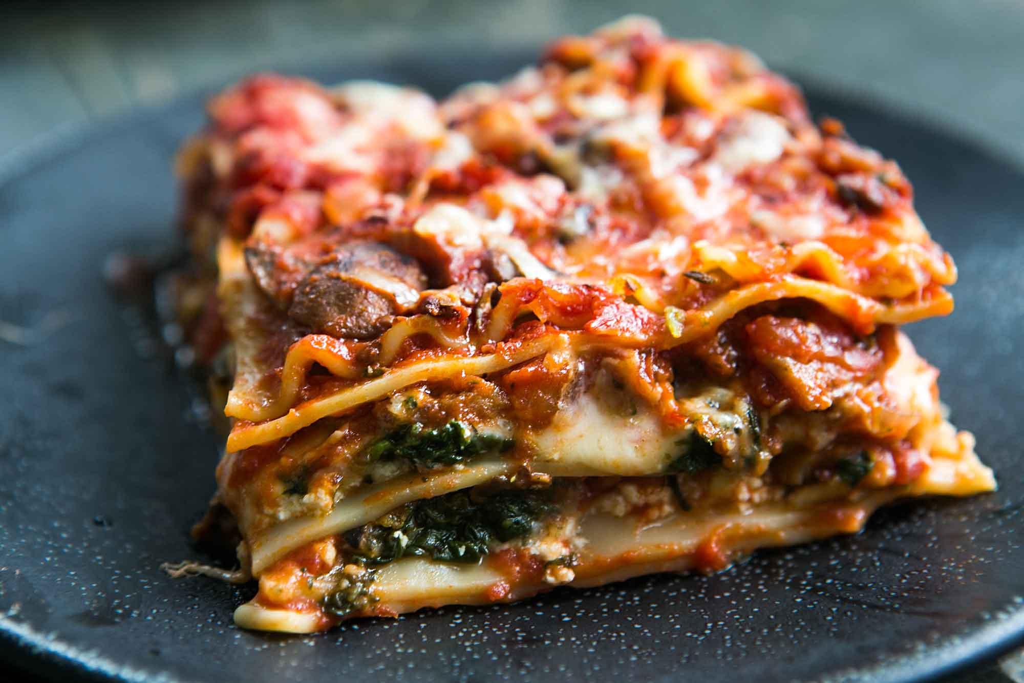 Lasagne maison végétarien